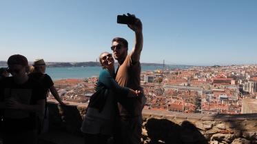 selfie time @ St. George