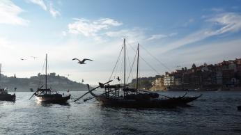 Porto's riverside