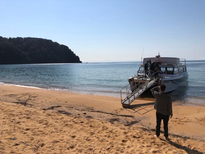 NZ4 – Able Tasman + Lachs +Fähre